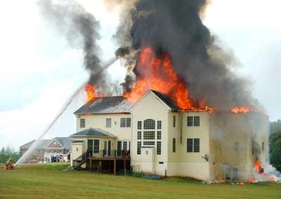 Оформление страховки на дом от пожара в компании Росгосстрах